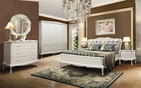 Komplett Schlafzimmer Mokko Im Landhausstil Massivholz Eiche