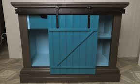 sliding barn door cabinet diy project