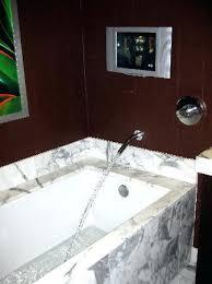 bathtub with tv red rock resort spa bathtub with bathtub tv tray bathtub with tv right drain rectangular whirlpool
