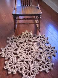 get pattern crochet doily rug free pattern