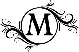 Free Letter Clipart Monograms Clip Art Images 22605
