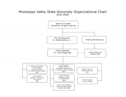 Ford Corporate Structure Chart Organizational Chart Mississippi Valley State University