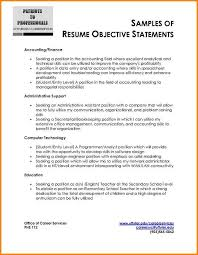 7 Resume Profile Statements Examples Happy Tots