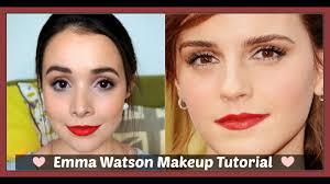 emma watson makeup tutorial makeupchameleon