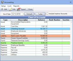 Open Dental Software Accounting