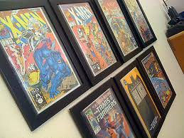 for a while now i have been wanting to find a way to show off my comic book collection in my office i had done a lot of searching for comic