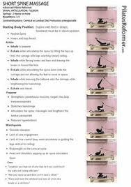 short spine mage pilates reformer pdf print