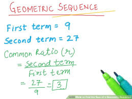 geometric sequence example