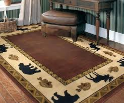paisley print decorative rug accent runner oversized latex backing deer area rugs