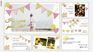 24 posts related to 40th birthday party program template. Emma Free Template For A Birthday Party For Google Slides Or Powerpoint Slidesmania