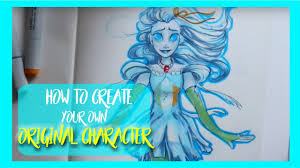 Design Your Character How To Create Your Own Original Character Dramaticparrot
