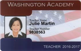 Teacher Photo Id Card