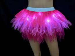 Micro Led Lights Clothing Rts Pink Fairy Light Up Tutu