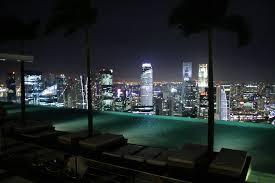 FileInfinity edge pool at Sands Sky Park Marina Bay Sands Hotel