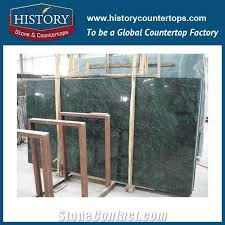 big flowers green color marble for home decoration high polished natural stone for countertop and wall and floor