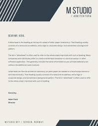 Letterhead Design Online Letterhead For A Company Lancsdesp Info