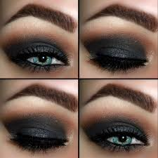 dark dramatic smokey eye