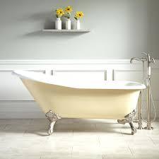 acrylic vs cast iron bathtub cast iron bathtubs claw foot bath tub