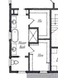 Master Bath Floor Planexcept I See No Need For Hisher Sinks I - Master bathroom layouts