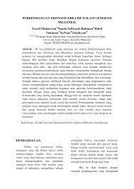 makalah ekonomi kreatif di indonesia