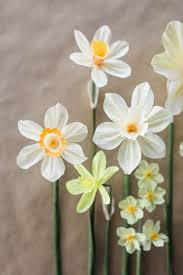 Daffodil Paper Flower Pattern How To Make A Paper Narcissus Flower Barca Fontanacountryinn Com