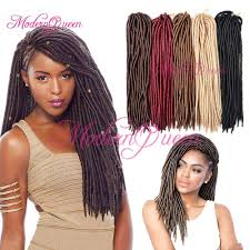 Goddess Hair Style wholesale 18 synthetic fauxlocs crochet hair 24roots faux locks 8321 by wearticles.com