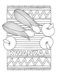Small Picture Kwanzaa Coloring Pages GetColoringPagescom