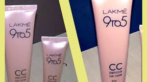 lakme 9 to 5 cc cream best cream for oily skin all about skin and makeup