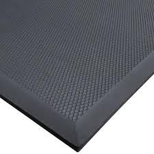 rubber floor mats. Exellent Floor Cactus Mat 220035 VIP Black Cloud 3u0027 X 5u0027 GreaseProof Rubber Floor   On Mats O