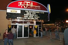 Fillmore Auditorium Seating Chart Fillmore Auditorium Information Fillmore Auditorium At