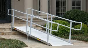 portable aluminum wheelchair ramp for homes