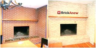 red brick fireplace makeover dark brick fireplace decorating red brick fireplace makeover ideas how to redo