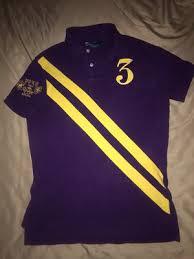 men s small purple gold custom fit ralph lauren polo for in san antonio