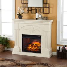 verona electric fireplace mantel package
