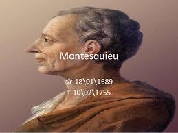 Kết quả hình ảnh cho Montesquieu