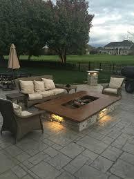 concrete patio with fire pit.  Pit Stampedconcretepatioandfirepit2jpg And Concrete Patio With Fire Pit