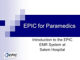 Introduction To The Epic Emr System At Salem Hospital Ppt