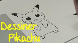 Dessin Facile Dessiner Pikachu Pokemon Youtube
