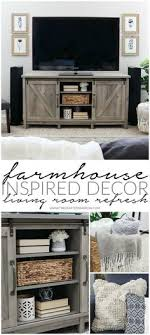 Furniture ideas for living rooms Home Easy Farmhouse Inspired Decor Living Room Refresh Pinterest 581 Best Living Rooms Images In 2019 Diy Ideas For Home Farmhouse