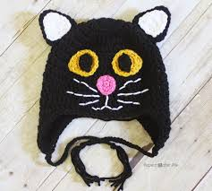 Cat Hat Crochet Pattern Enchanting Crochet Black Cat Hat Repeat Crafter Me