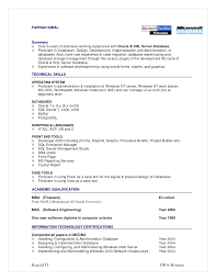 Fascinating Resume for Sql Developer Fresher About oracle Sql Resume