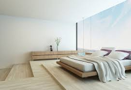 Minimalist bedroom furniture Minimal Large Minimalist Bedroom For Beach House Featuring Wooden Furniture And Wooden Floor Mfclubukorg Bedroom Large Minimalist Bedroom For Beach House Featuring Wooden