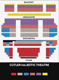 Verizon Theater Seating Chart View Seating Chart For Herbst Theater Detroit Opera House Balcony