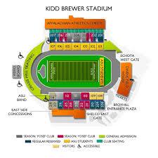 Kidd Brewer Stadium 2019 Seating Chart