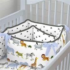 animal print crib pers designer