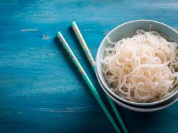 Put a pot of water on the stove and let it come to a boil, prepared to cook the pasta. Shirataki Noodles The Zero Calorie Miracle Noodles