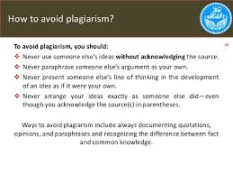 how to write a great research paper how to avoid plagiarism