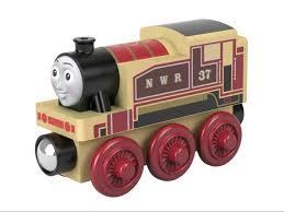 rosie train wooden railway 2018