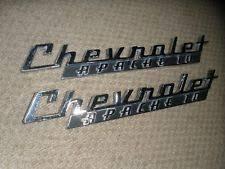 item 3 vine pair original 1960 chevrolet apache 10 truck hood emblems 3766879 hotrod vine pair original 1960 chevrolet apache 10 truck hood emblems