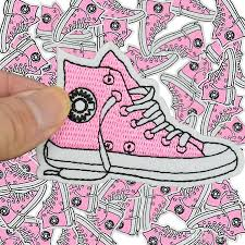 diy shoe patches for clothing iron embroidered patch applique iron on patches sewing accessories badge stickers on clothes bags
